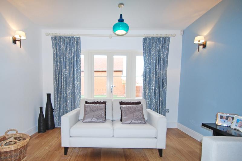 Living room portfolio interior design hertfordshire for Duck egg dining room ideas