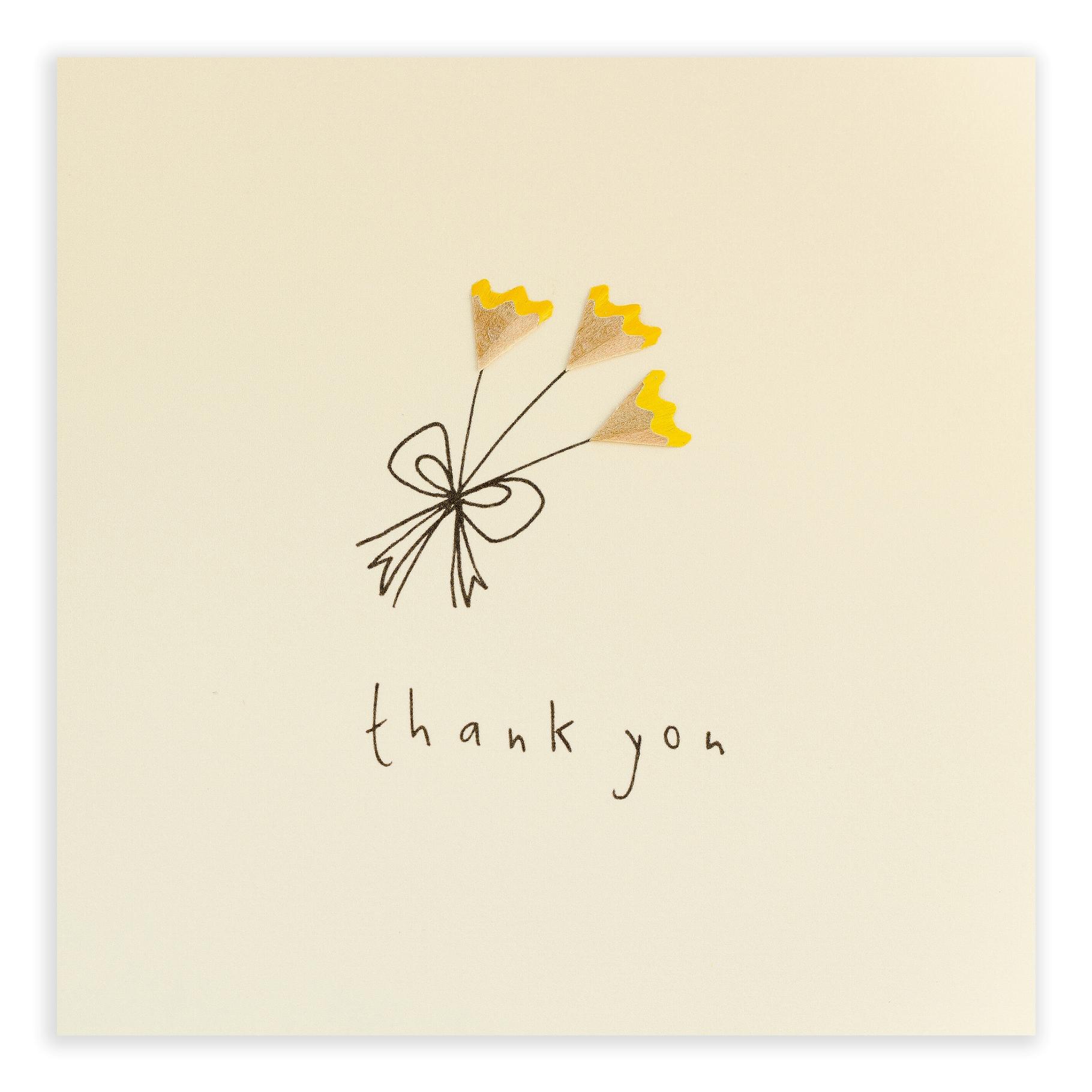 Открытки бумажные спасибо