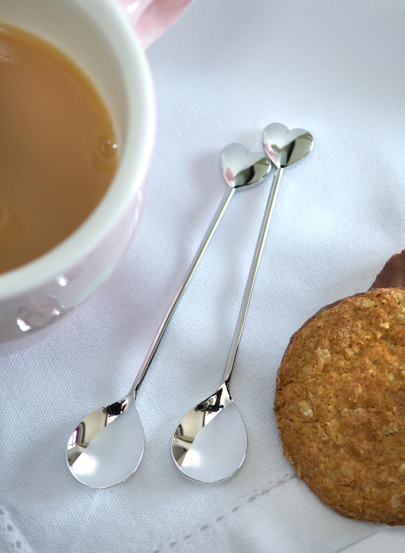 Retreat Home Heart Tea Spoons -