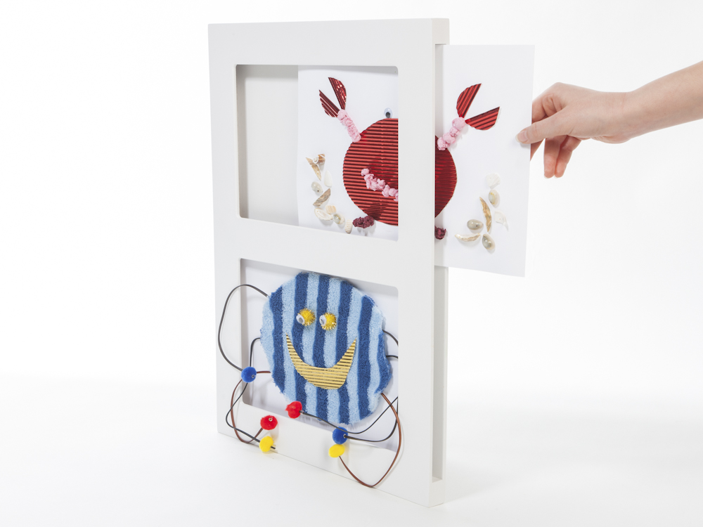 A4 Double Gallery Photo Frame -